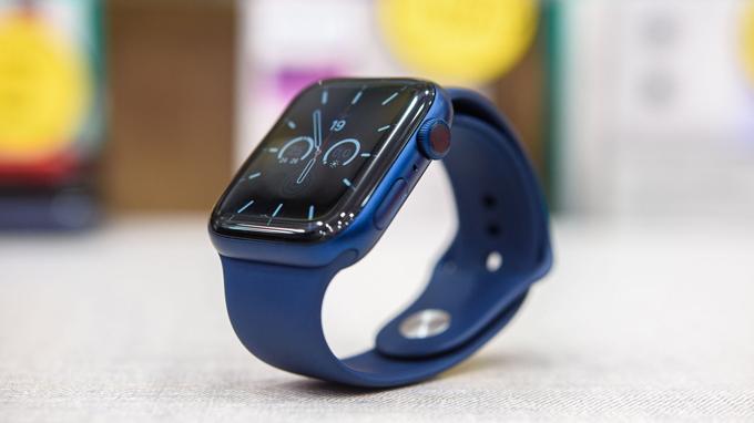 thiết kế Apple Watch series 6 không có nhiều sự thay đổi
