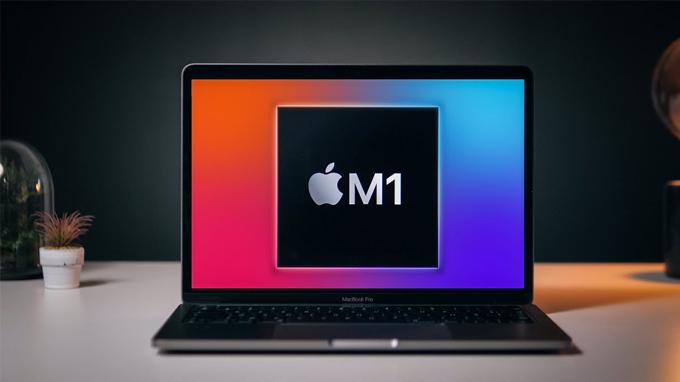MacBook Pro M1 13 inch 2020 256GB dễ dàng xử lý các tác vụ nặng một cách mượt mà
