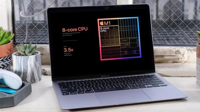 Cấu hình MacBook Air M1 256GB 2020 mạnh mẽ với chip M1