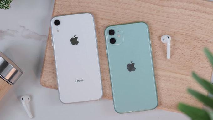 So với iPhone Xr thì camera iPhone 11 64G có sự nâng cấp mạnh mẽ