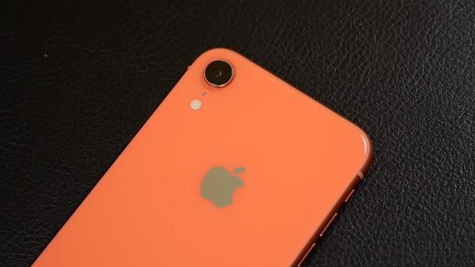 Camera iPhone Xr 64GB cũ chỉ được trang bị 1 cảm biến 12MP