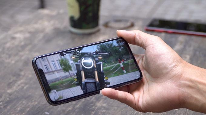 Khả năng hiển thị nội dung ngoài trời trên điện thoại iPhone 11 Pro 64GB Active đạt đến 800 nits