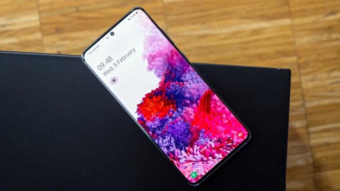 Tất cả các điện thoại Galaxy S20 đều đi kèm với phần mềm One UI 2