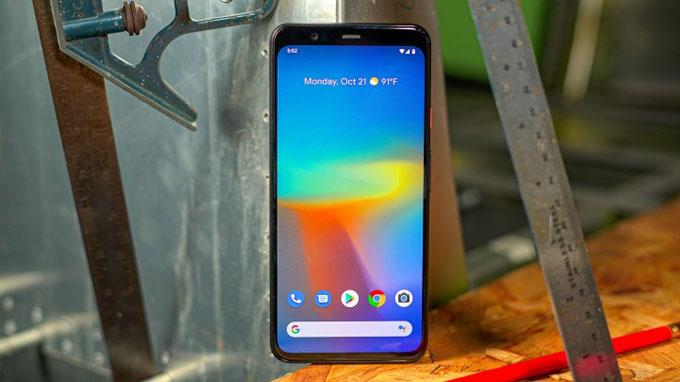 màn hình Google Pixel 4 XL vẫn sở hữu kích thước 6,3 inch