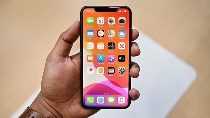 Màn hình iPhone 11 Pro 64GB có kích thước 5.8 inch