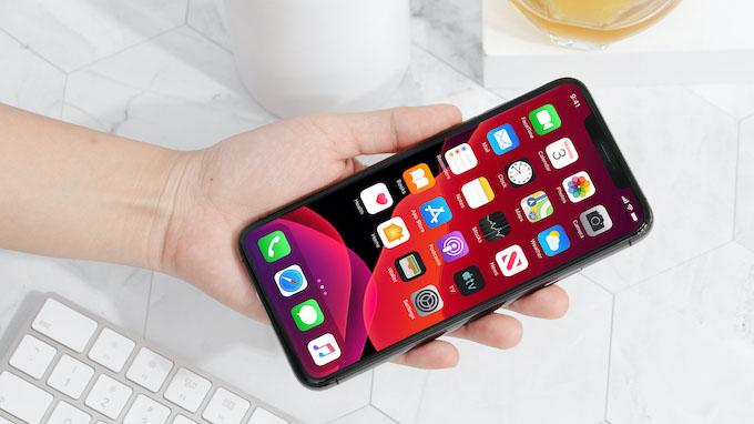 Màn hình iPhone 11 Pro Max cũng thuộc top đầu hiện nay