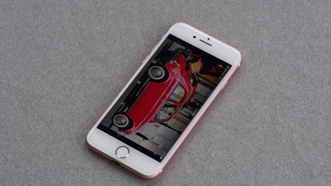 Đánh giá màn hình iPhone 7 32GB cũ gần như tương tự với các model tiền nhiệm