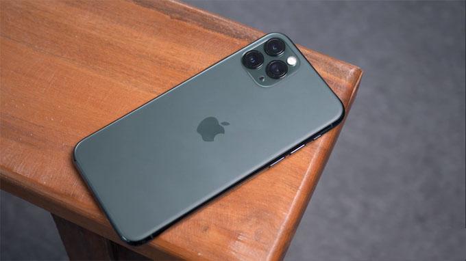 pin trên iPhone 11 Pro 64GB được cải thiện đáng kể