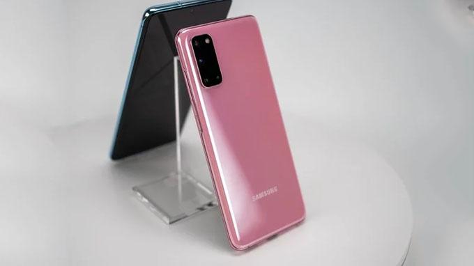 Thiết kế Galaxy S20 128GB Mỹ cao cấp, sang trọng