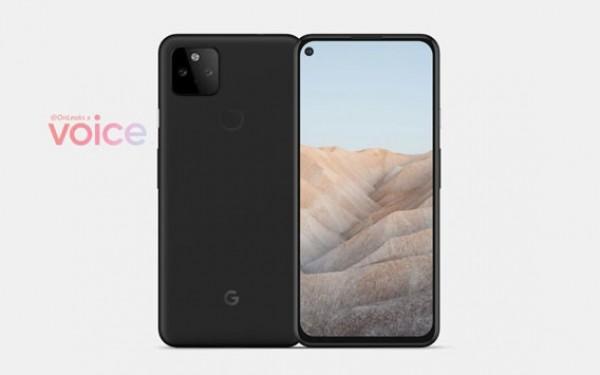 Google Pixel 5a lộ diện với hình ảnh render sắc nét, thiết kế quen thuộc