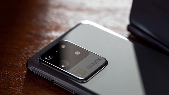 camera Galaxy S20 Ultra được đánh giá là cao cấp nhất với cảm biến chính lên đến 108MP