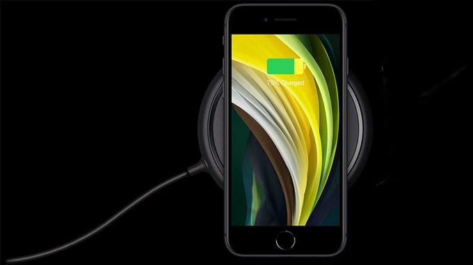 iPhone SE 2020 256GB hỗ trợ sạc nhanh công suất 18W