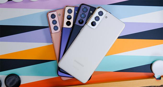 Galaxy S21 series có mấy màu?