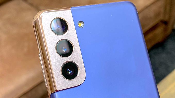 camera trên bộ đôi Galaxy S21 5G và Galaxy 21 Plus 5G khá giống nhau.