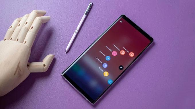 bút s-pen được hỗ trợ thêm nhiều tính năng mới