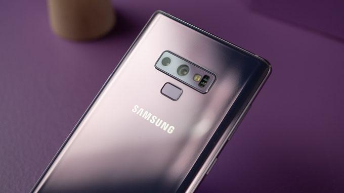 Camera Galaxy Note 9 128GB cũ được tích hợp 2 ống kính