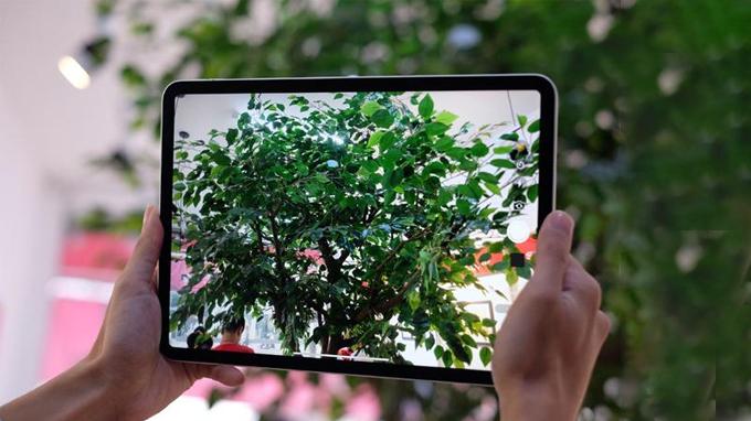 Camera iPad Pro 2018 mang đến chất lượng hình ảnh chuyên nghiệp