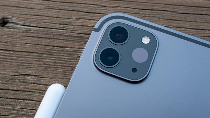 Camera iPad Pro 2020 12.9 inch 128GB Wifi chụp ảnh chuyên nghiệp
