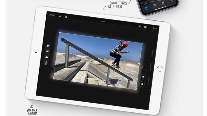 Chỉnh sửa video dễ dàng trên iPad 10.2 2019