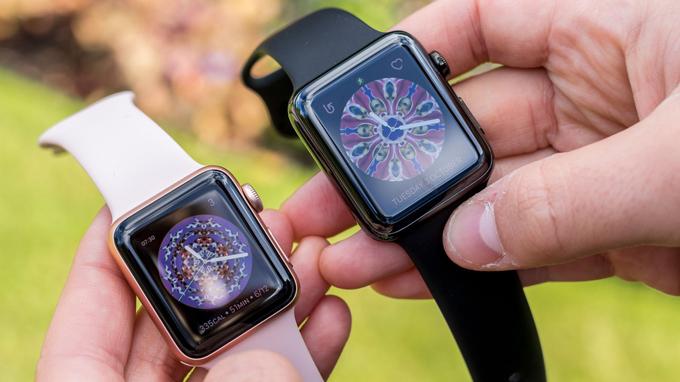 Màn hình trên Apple Watch Series 3 42mm cũ được đánh giá cao