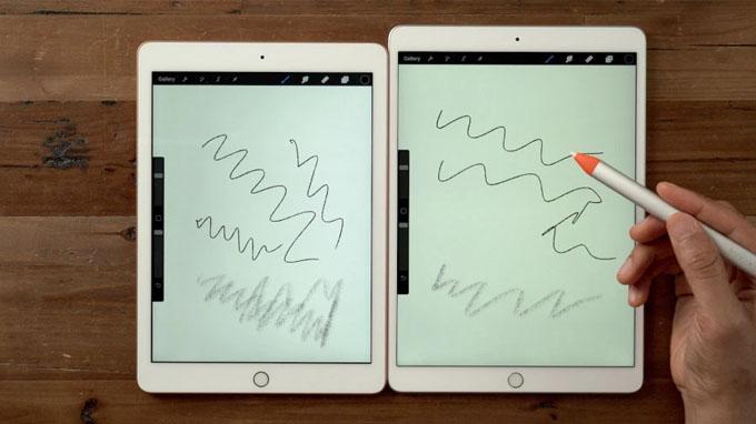 iPad Air 3 tích hợp màn hình 10.5 inch lớn hơn màn hình 9.7 inch trên iPad Air 2