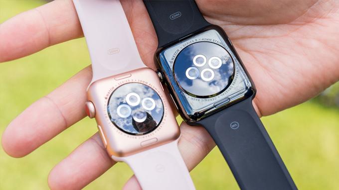 Cấu hình Apple Watch Series 3 42mm được tích hợp chip xử lý S3