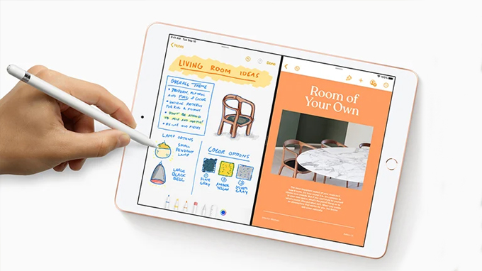 Bút cảm ứng  Apple Pencil là phụ kiện hấp dẫn tương thích với iPad 10.2 2019