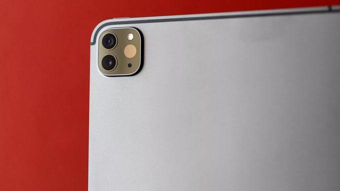 Camera iPad Pro 2020 được trang bị 2 ống kính và bổ sung thêm 1 máy quét LiDAR