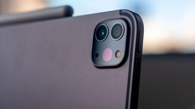 Camera iPad Pro 2020 11 inch 256GB 4G được trang bị 2 ống kính và 1 máy quét LiDAR