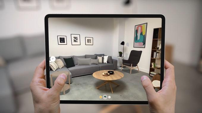 Camera iPad Pro 2020 256GB wifi mang đến chất lượng hình ảnh tuyệt vời