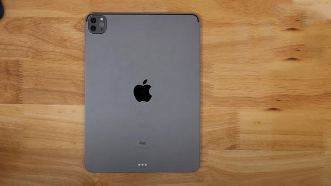 thiết kế iPad Pro 2020 11 inch 128GB Wifi nổi bật với cụm camera hình vuông