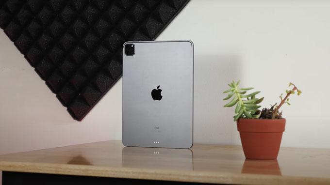 thiết kế iPad Pro 2020 11 inch 256GB Wifi không có nhiều khác biệt