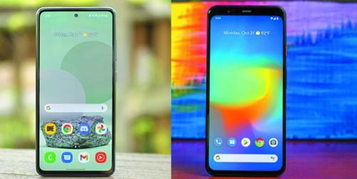 So sánh Google Pixel 4 XL & Samsung Galaxy A52: Thiết kế, camera, hiệu suất