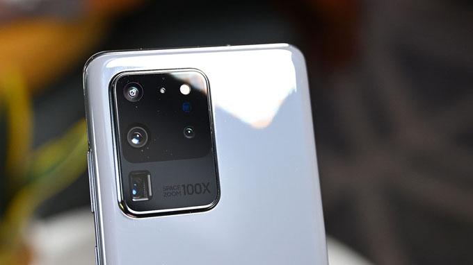 Camera Galaxy S20 Ultra 128GB Hàn Quốc có độ phân giải lên đến 108 MP