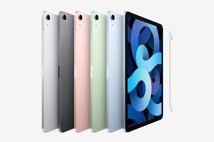 iPad Air 4 2020 có thiết kế tương tự như iPad Pro 2020