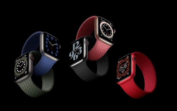 Apple Watch Series 6 ra mắt với màu mới, dây mới và đo oxy trong máu