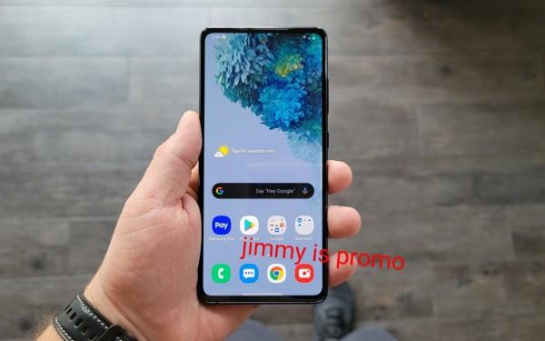 Lộ diện ảnh trên tay Samsung Galaxy S20 FE với màu xanh Cloud Navy mới