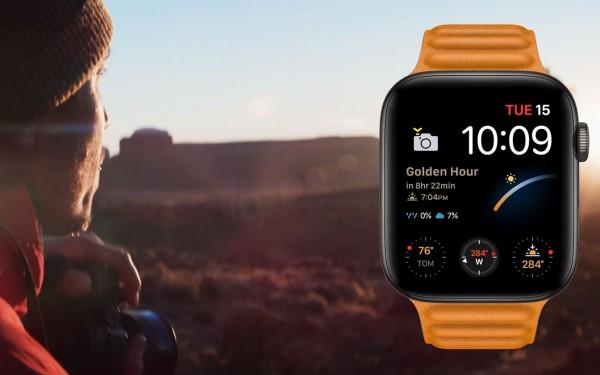 Apple Watch Series 6 sẽ có thông báo Golden Hour cho các nhiếp ảnh gia