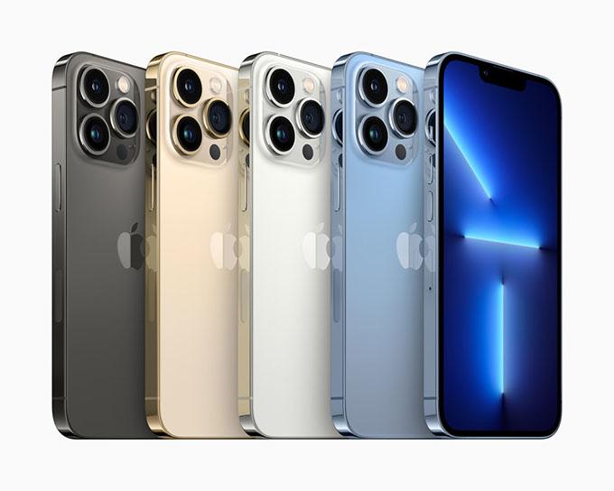 iPhone 13 series có bao nhiêu phiên bản?