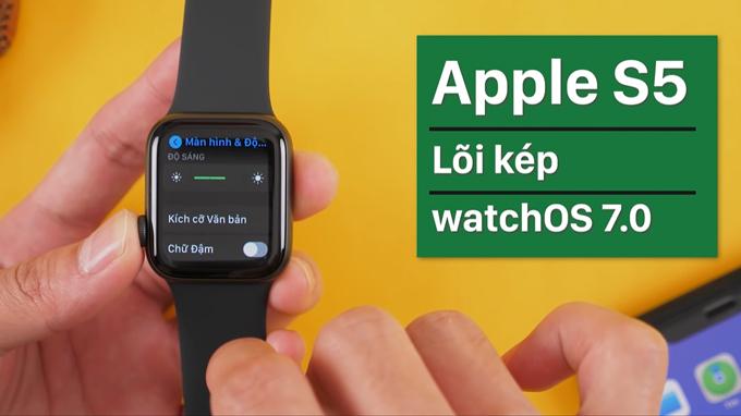 Cấu hình Apple Watch SE giá rẻ được trang bị chip xử lý S5