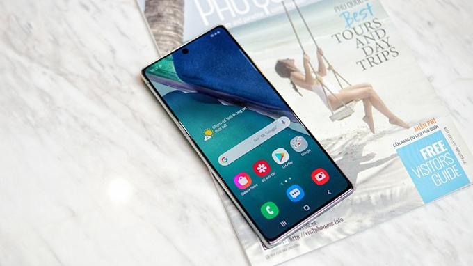 Cấu hình Galaxy Note 20 5G cũ thuộc hàng khủng nhất hiện nay