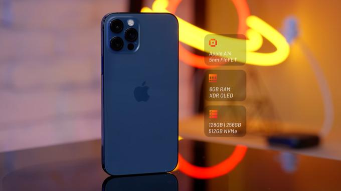 Cấu hình iPhone 12 Pro 512GB cũ mang đến hiệu suất vượt trội