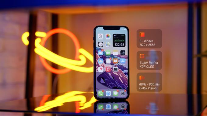 màn hình iPhone 12 Pro 512GB cũ giá rẻ chủ yếu được nâng cấp chất lượng hiển thị