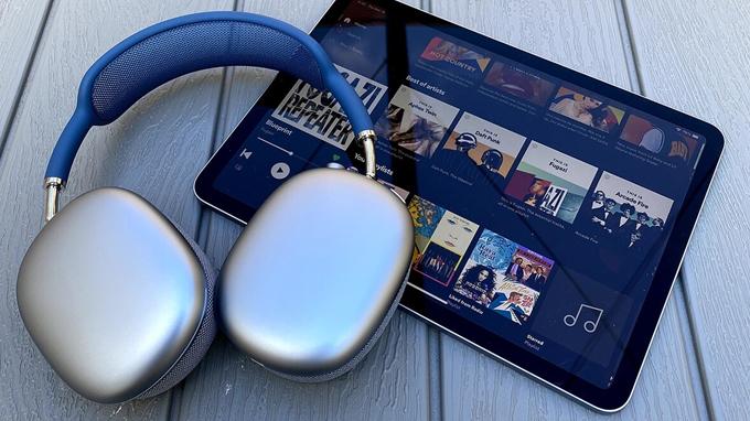 Thiết kế trên tai nghe Apple AirPods Max sang trọng và đẳng cấp