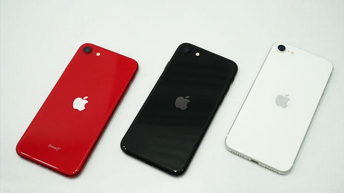 thiết kế iPhone SE mới khá giống iPhone 8
