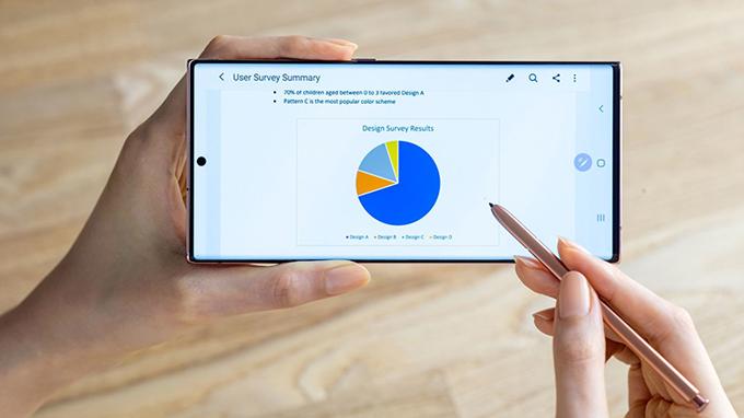 Galaxy Note 20 Ultra 5G bản Mỹ đươc trang bị pin 4500mAh, hỗ trợ sạc nhanh 45W