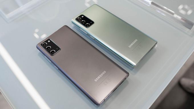 cấu hình Galaxy Note 20 5G sẽ được tích hợp chip xử lý Snapdragon 865+