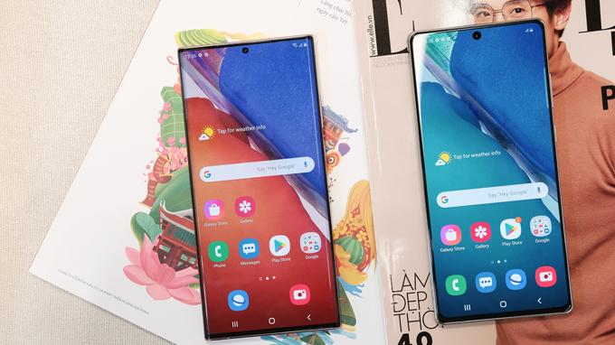 Điện thoại Galaxy Note 20 Ultra 5G Mỹ là model có kích thước màn hình lớn nhất hiện nay