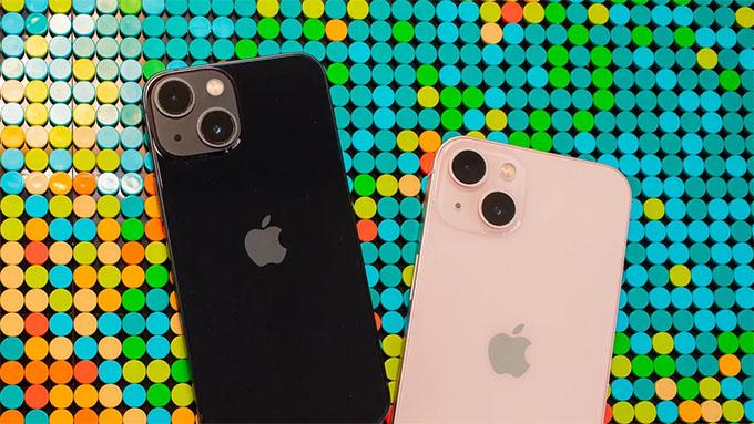 Camera iPhone 13 mini 256GB vẫn được trang bị 2 ống kính