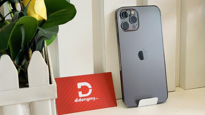 Cấu hình iPhone 12 Pro 128GB được tích hợp chip xử lý Apple A14 Bionic